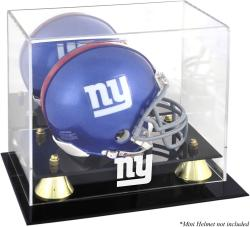 New York Giants Mini Helmet Display Case - Mounted Memories