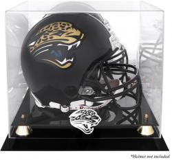 Jacksonville Jaguars Helmet Display Case - Mounted Memories