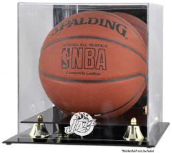 Utah Jazz Golden Classic Team Logo Basketball Display Case