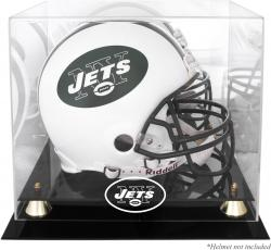 New York Jets Helmet Display Case - Mounted Memories