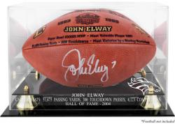 Denver Broncos John Elway Hall of Fame Football Case