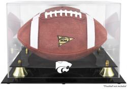 Kansas State Wildcats Golden Classic Football Display Case with Mirror Back - Mounted Memories