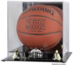 Denver Nuggets Golden Classic Team Logo Basketball Display Case