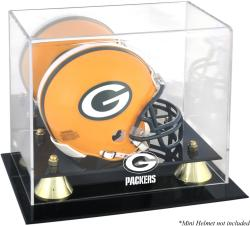 Green Bay Packers Mini Helmet Display Case
