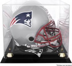 New England Patriots Helmet Display Case - Mounted Memories