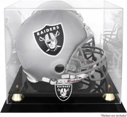 Oakland Raiders Helmet Display Case - Mounted Memories