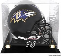 Baltimore Ravens Helmet Display Case - Mounted Memories