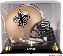 New Orleans Saints Helmet Display Case