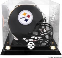 Pittsburgh Steelers Helmet Display Case - Mounted Memories