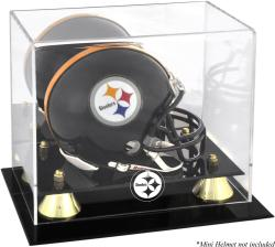 Pittsburgh Steelers Mini Helmet Display Case - Mounted Memories