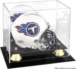 Tennessee Titans Mini Helmet Display Case - Mounted Memories