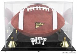 Pittsburgh Panthers Golden Classic Team Logo Football Display Case with Mirror Back - Mounted Memories