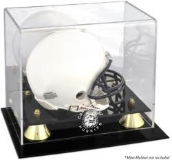 Connecticut Huskies Golden Classic Logo Mini Helmet Display Case