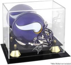 Minnesota Vikings Mini Helmet Display Case