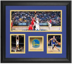 NBA Golden State Warriors Framed 3 Photo Collage