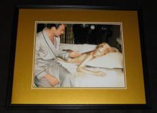 Goldfinger Sean Connery Shirley Eaton James Bond Framed 11x14 Photo Poster