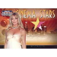 Goldie Hawn 2008 Donruss Americana Cinema Stars Card #CS-34 - with 3 Color Swatch