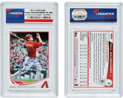Paul Goldschmidt Arizona Diamondbacks Autographed 2013 Topps with 1st ASG Inscription