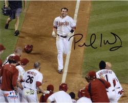 "Paul Goldschmidt Arizona Diamondbacks Autographed 8"" x 10"" Team Celebration Photograph"