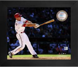 Paul Goldschmidt Arizona Diamondbacks Framed 20'' x 24'' Gamebreaker Photograph with Game-Used Ball - Mounted Memories