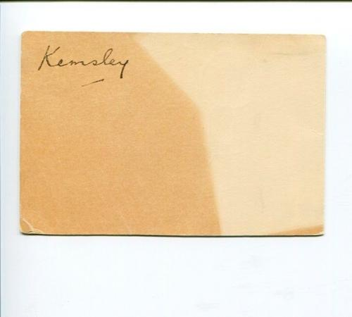 Gomer Berry 1st Viscount Kemsley Welsh Newspaper Publisher Signed Autograph