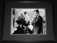 Gone With the Wind Clark Gable Ann Rutherford Framed 11x14 Photo Poster