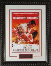 """Gone With Wind Framed 11x17"""" Publicity Movie Poster"""