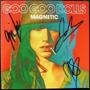 Goo Goo Dolls 3x signed CD Cover Magnetic PSA/DNA Takac Malinin Rzeznik