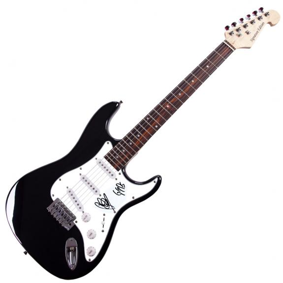 Goo Goo Dolls Robby Autographed Signed Guitar UACC RD COA AFTAL