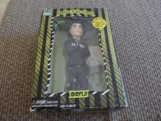 """Good Charlotte Benji 9"""" Action Figure Doll W/ Signed Autographed Card"""