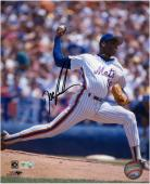 """Dwight """"Doc"""" Gooden  New York Mets Autographed 8"""" x 10"""" Photograph"""