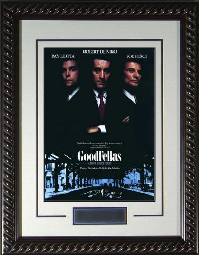 "Goodfellas Framed 11x17"" Publicity Movie Poster"