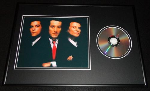 Goodfellas Framed 12x18 DVD & Photo Display Robert De Niro Joe Pesci