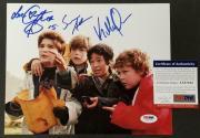"Goonies Cast (3) Signed 8x10 Photo + Character Names ""Love"" ~ PSA/DNA COA"