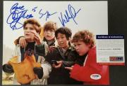 "Goonies Cast (3) Signed 8x10 Photo + Character Names ""Peace"" ~ PSA/DNA COA"