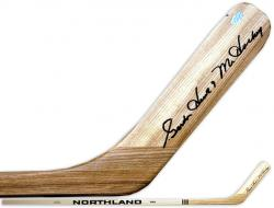 Gordie Howe Detroit Redwings Autographed Hockey Stick with ''Mr. Hockey'' Inscription - Mounted Memories