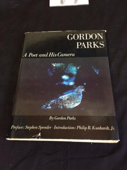 Gordon Parks Photographer Poet Shaft Movie Director Signed Autograph 1st HB Book