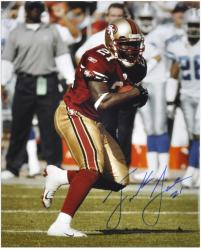 Frank Gore San Francisco 49ers Autographed 16'' x 20'' Ball In One Hand Photograph