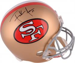 Frank Gore Autographed 49ers Helmet