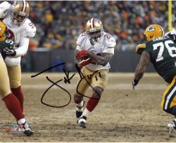 Frank Gore San Francisco 49ers Autographed 8'' x 10'' White Jersey Photograph