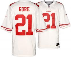 Frank Gore San Francisco 49ers Autographed Nike Limited White Jersey