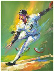 Goose Gossage Artwork Signed by Artist
