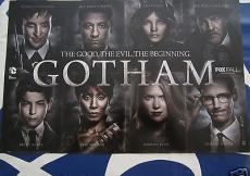 Gotham 2014 San Diego Comic-Con SDCC exclusive 11x17 mini promo poster MT Batman