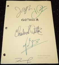 GOTHIKA Autographed Full Script by Halle Berry, Robert Downey Jr, Charles S. Dutton, John Carroll Lynch, and Penelope Cruz