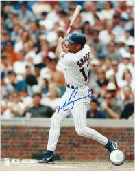 Mark Grace Chicago Cubs Autographed 8'' x 10'' Photograph - Mounted Memories