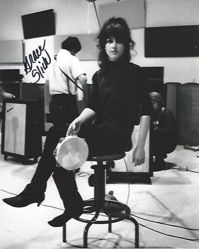 "GRACE SLICK - SINGER/SONGWRITER - Her ROCK GROUPS Included ""THE GREAT SOCIETY"", ""JEFFERSON AIRPLANE"", and ""STARSHIP"" Signed 8x10 B/W Photo"