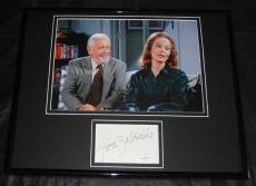 Grace Zabriskie Seinfeld Signed Framed 11x14 Photo Display JSA