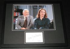 Grace Zabriskie Signed Framed 11x14 Photo Display JSA Seinfeld