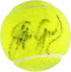 Steffi Graf Autographed US Open Logo Tennis Ball