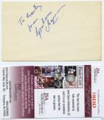 Graham Chapman Signed Autographed Index Card Jsa Coa Monty Python Rare Rare Rare
